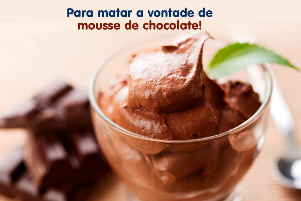 mousse chocolate fit